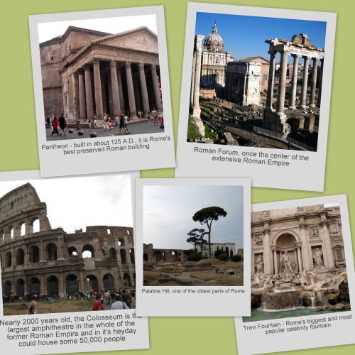 scenes of ancient Rome