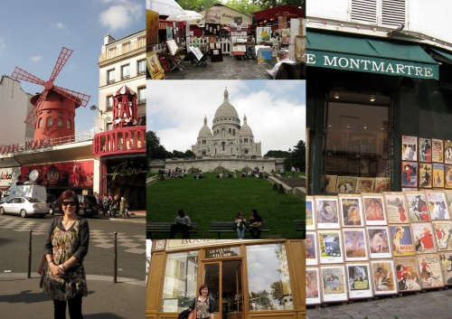 montmarte collage