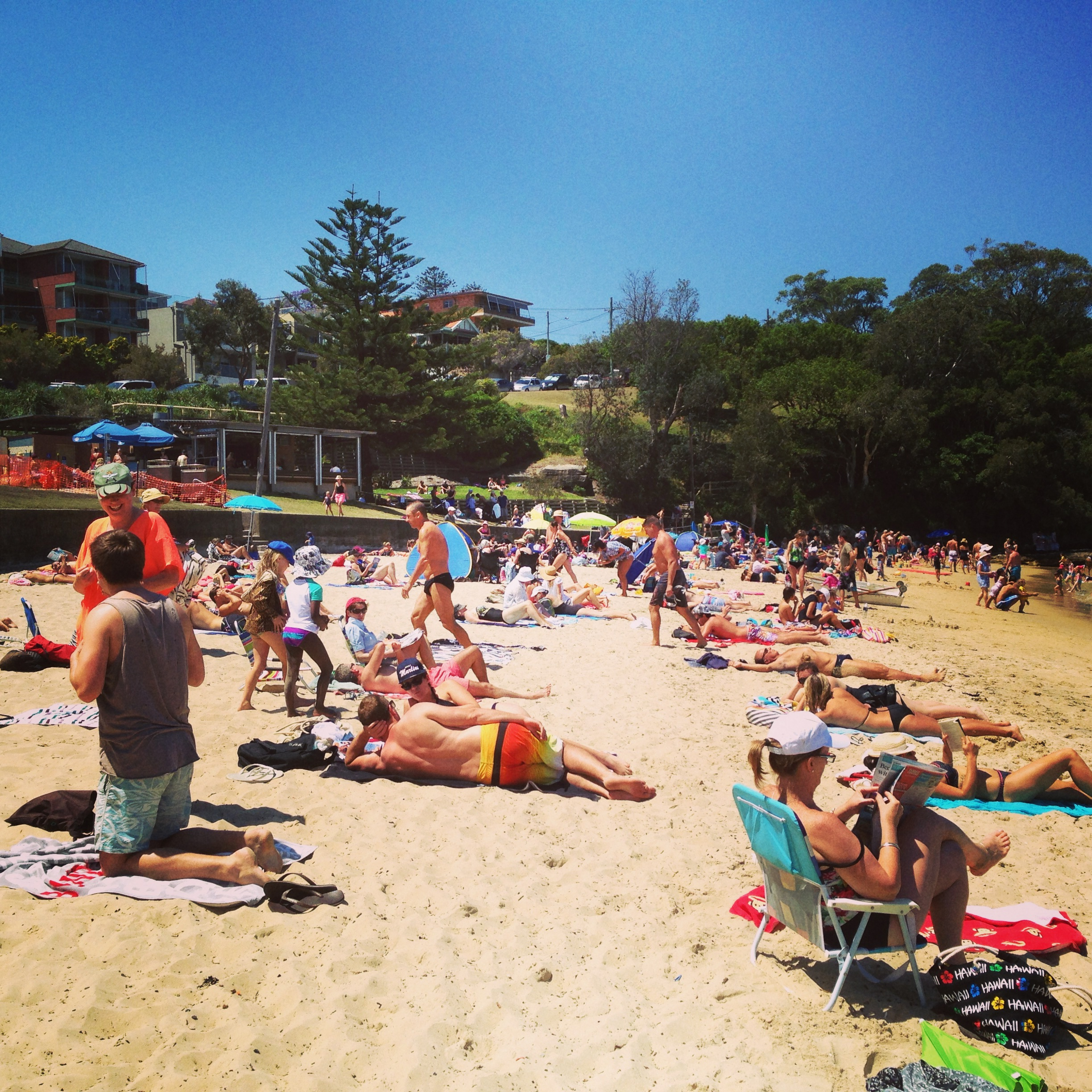 Sydney Day 3: Little Manly Beach & Little Manly Point Park